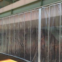 屋外用ビニールカーテン