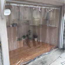 店舗用ビニールカーテン