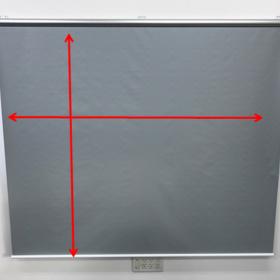 ビニールスクリーン採寸方法