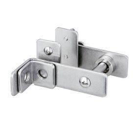 間仕切りロック両開鍵掛穴付