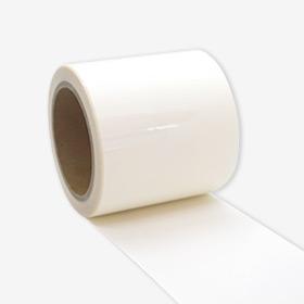 透明ビニールシートの補修テープ