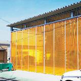 防虫ビニールカーテンの機能性ついて