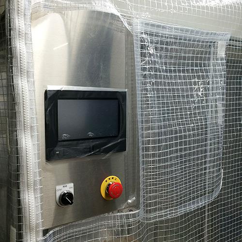 兵庫県神戸市|製作事例|防塵ビニールカバー(試験装置)