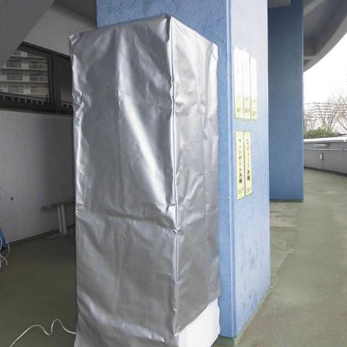 冷蔵庫用の保護カバーを製作