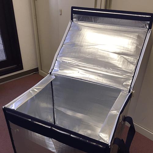 折り畳み式保冷カバーを製作