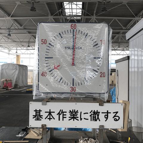 兵庫県尼崎市|製作事例|タイマーカバー(作業現場)