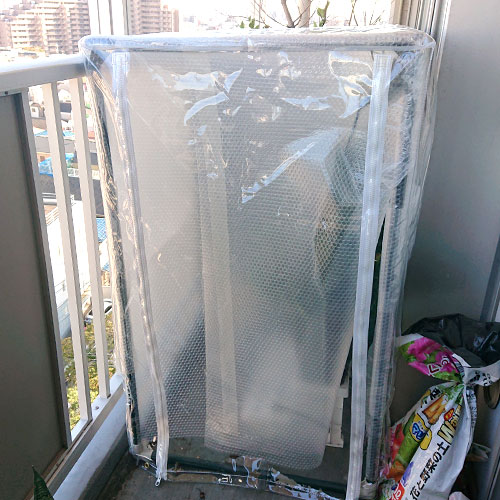 東京都大田区|製作事例|温室用ラックカバー