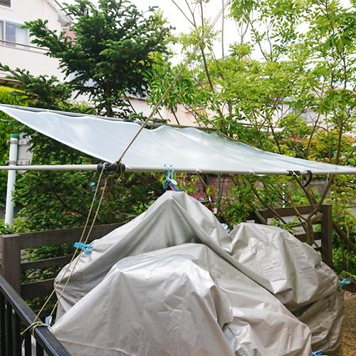 神奈川県横浜市|製作事例|雨よけテント(駐輪場)