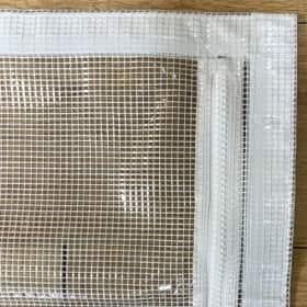 【SALE限定サイズ/ファスナー・マジックテープ加工】 VP-580T(防炎・厚手・帯電)