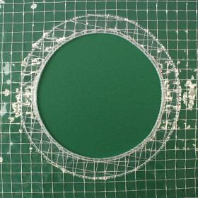 円形切り欠き加工