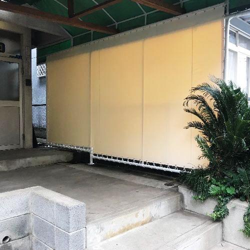 東京都町田市|製作事例|間仕切りテントシート