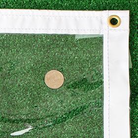 【SALE限定サイズ】非防炎(薄手)の透明ビニールカーテン 0.5mm【VP-050HB】